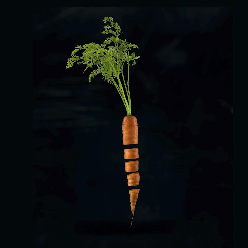 viipaloitu porkkana